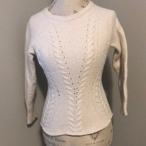 Autumn Cashmere Off-White Sweater Size XS-M